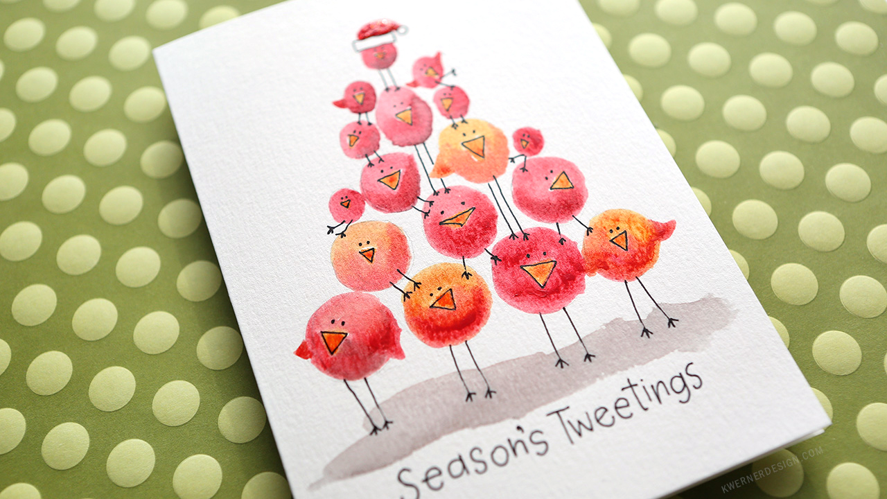 Holiday Card Series 2016 – Day 22 – Easy DIY with Minimal Supplies