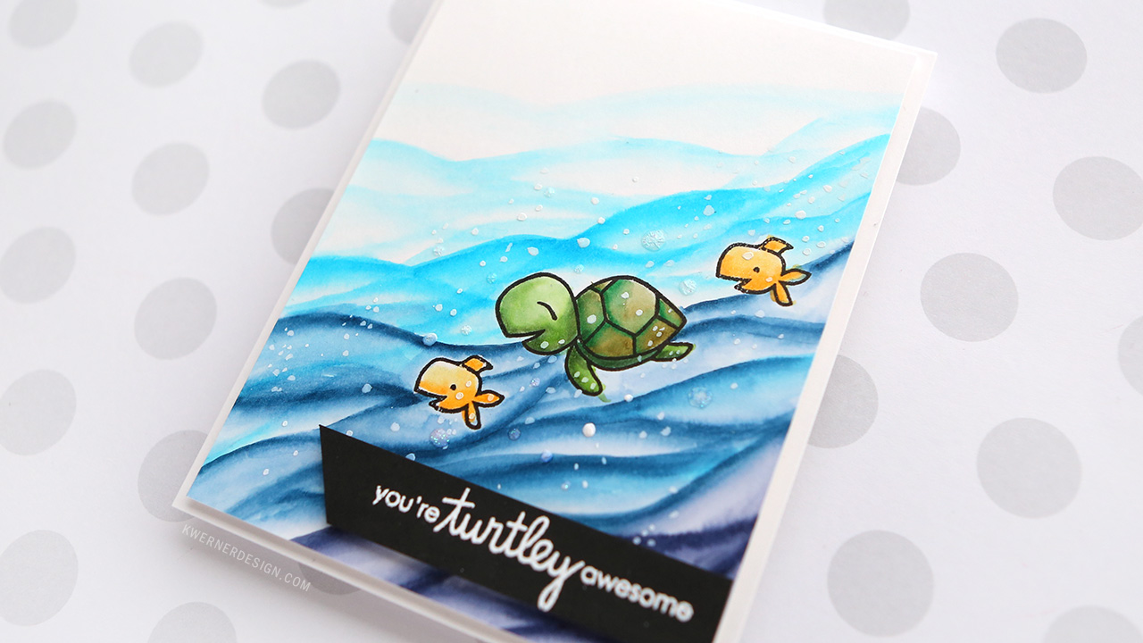 You're Turtley Awesome! – Zig Clean Color Markers & Paper Smooches