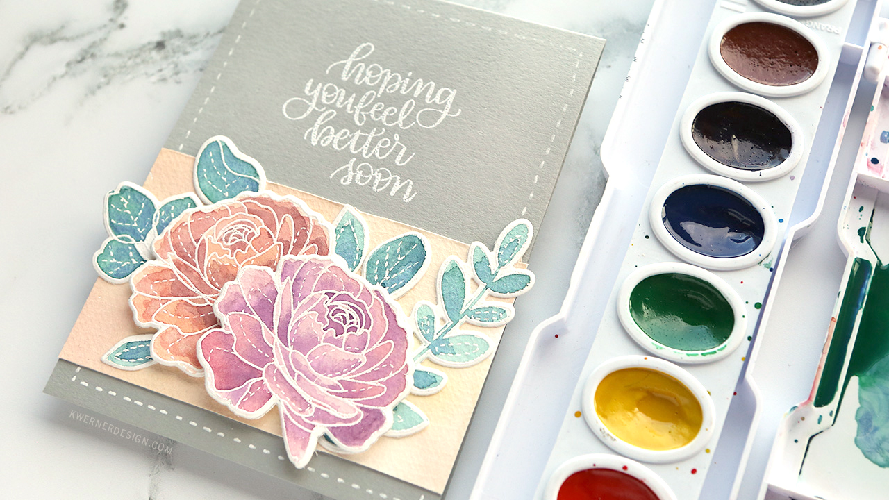 Mixing Custom Colors for Watercolor Painting – Video 2