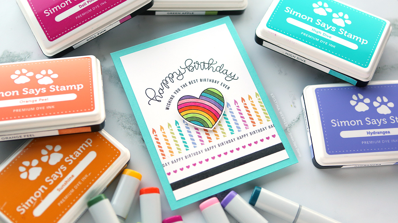 GET THE MOST OUT OF SMALL STAMPS! Colorful Rainbow Stamping + Copic Coloring