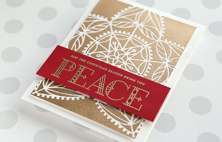 2 Types of Stencil Embossing - NEW Holiday Release from Simon Says Stamp