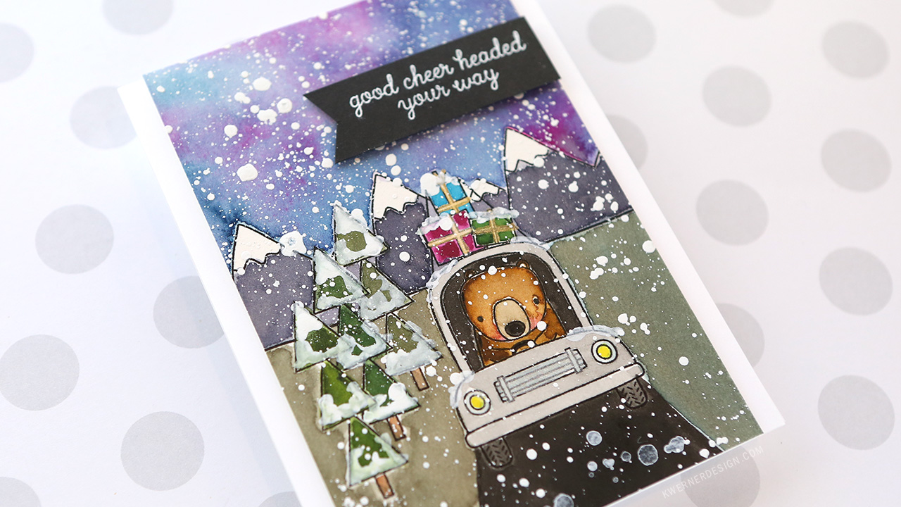 Holiday Card Series 2017 – Day 24 – Caught in a Blizzard