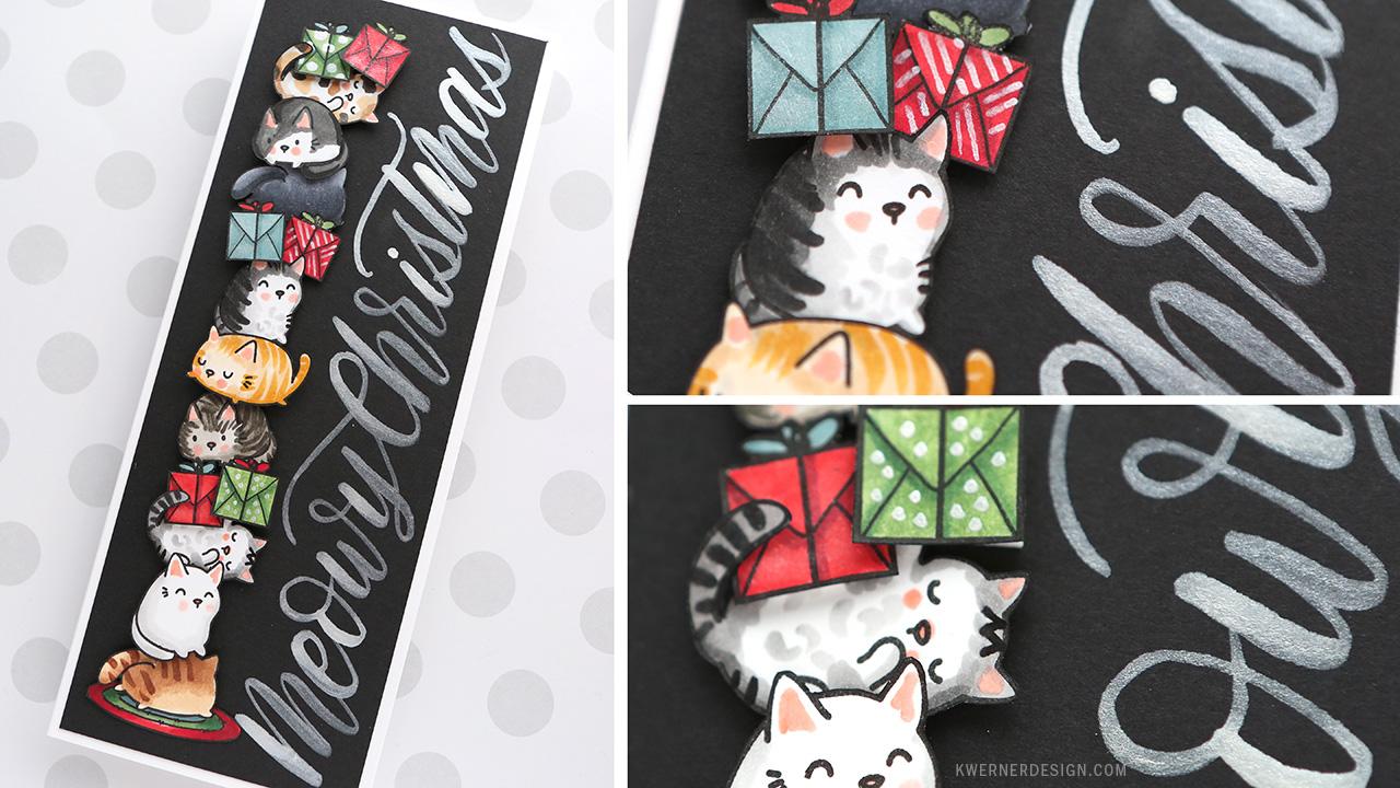 Holiday Card Series 2017 – Day 25 – SO MANY Christmas Kitties!
