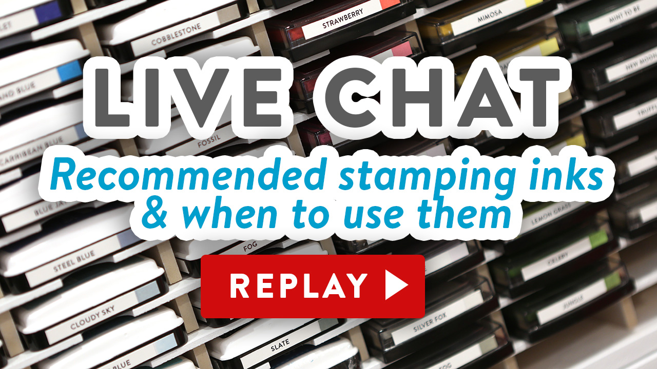 LIVE Chat – What ink should I use? Recommended inks & when to use them