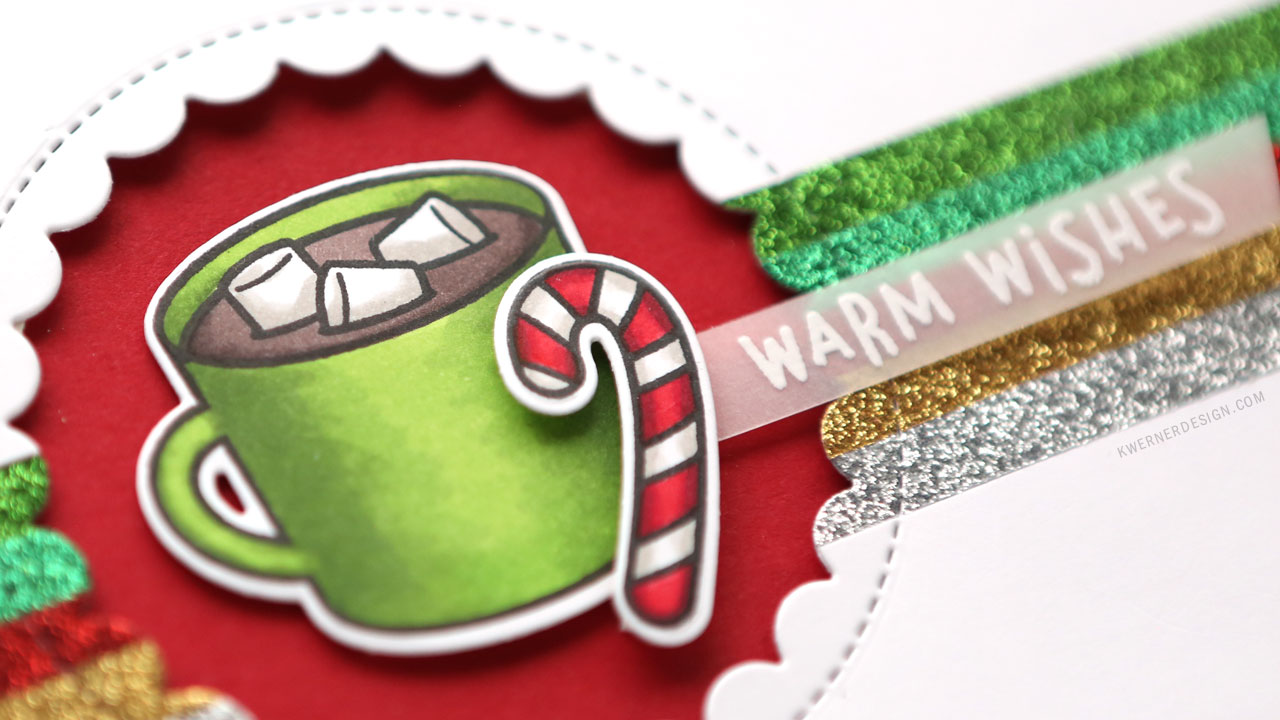 Holiday Card Series 2018 – Day 1 – Hot Cocoa Warm Wishes
