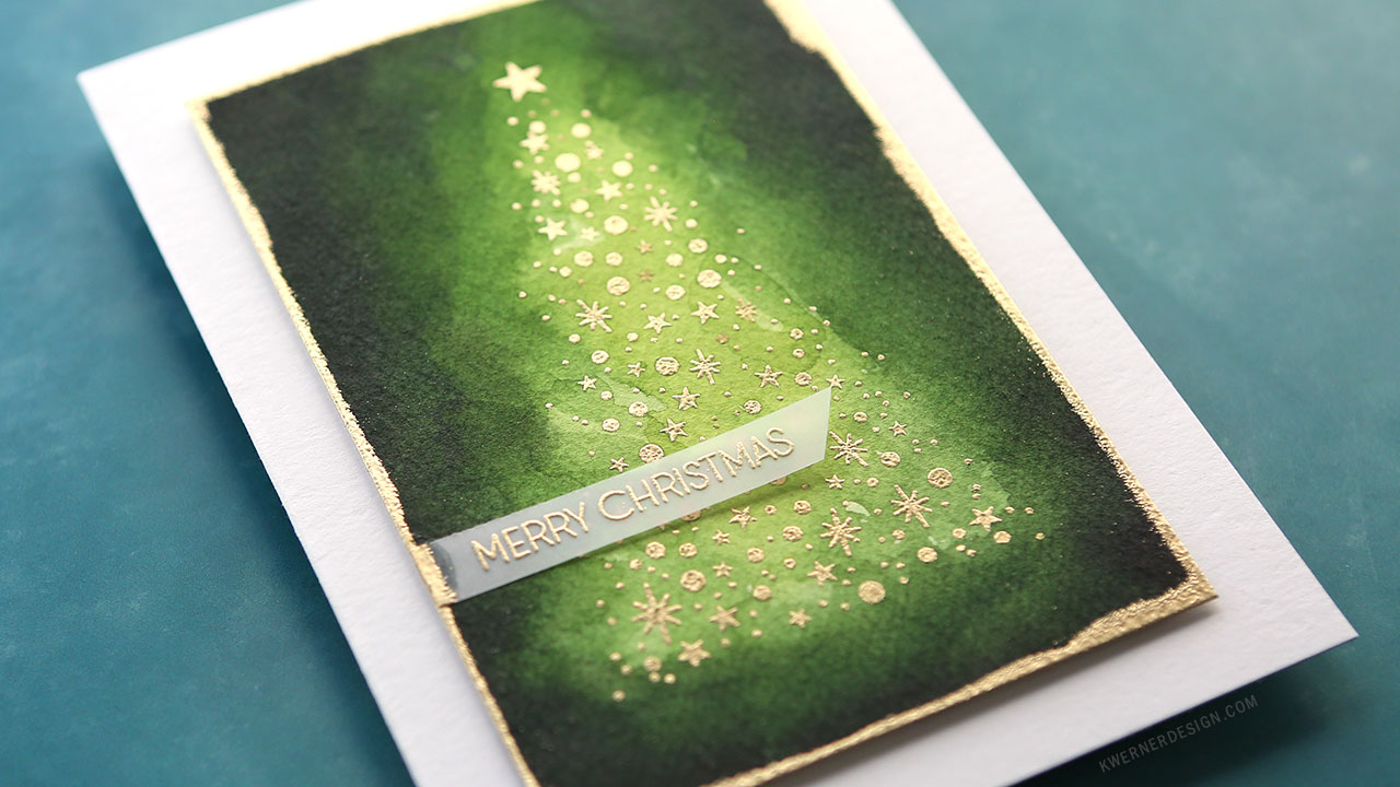 Holiday Card Series 2018 – Day 7 – Glowing Christmas Tree