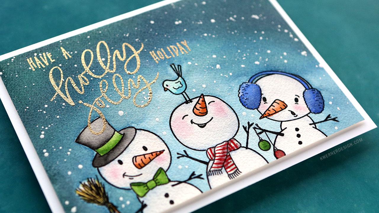 Holiday Card Series 2018 – Day 14 – Snow Buddies