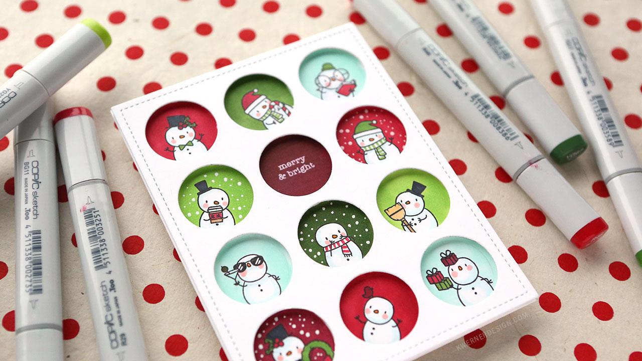 Holiday Card Series 2018 – Day 25 – SO MANY Snowmen!