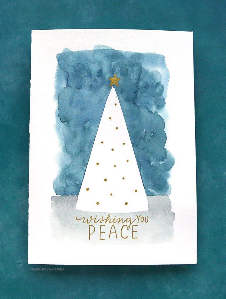 easy diy christmas cards last minute card ideas