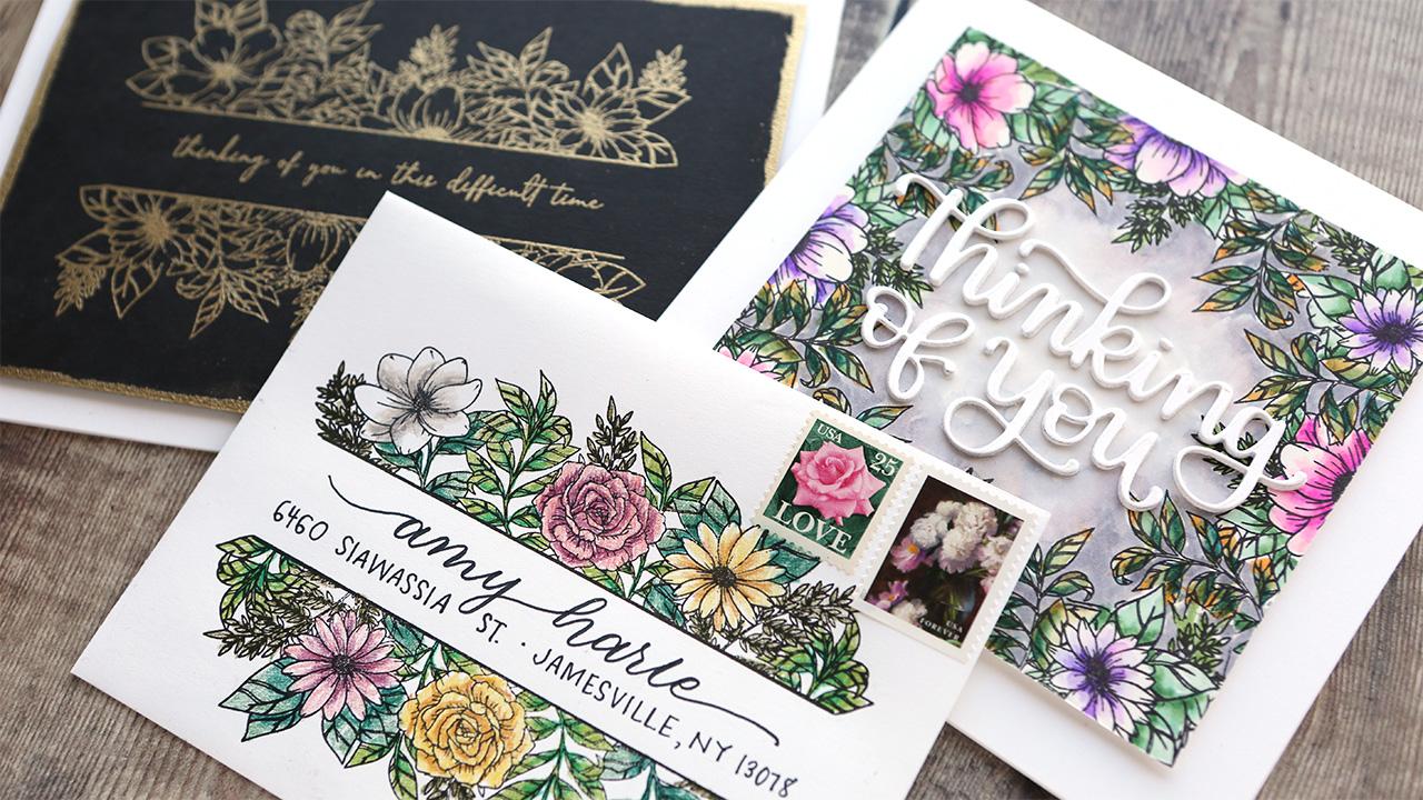 1 Stamp Set, 3 Ways (Border Stamps) – Make a Card Monday #282
