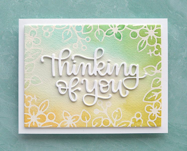 YOU'VE GOTTA TRY THIS! Using contact paper for watercolor masking - Make a Card Monday #285