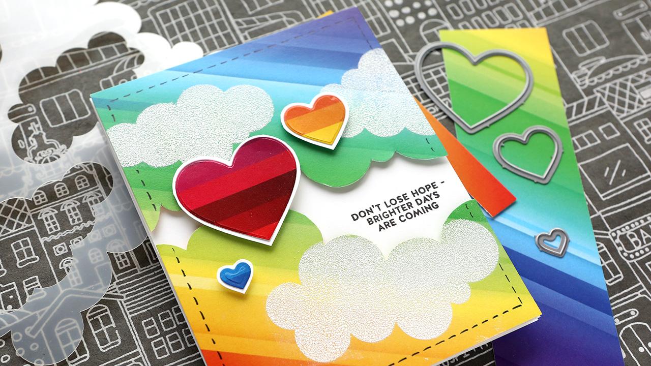 Don't Lose Hope Card – Simon Says Stamp Card Kit Inspiration