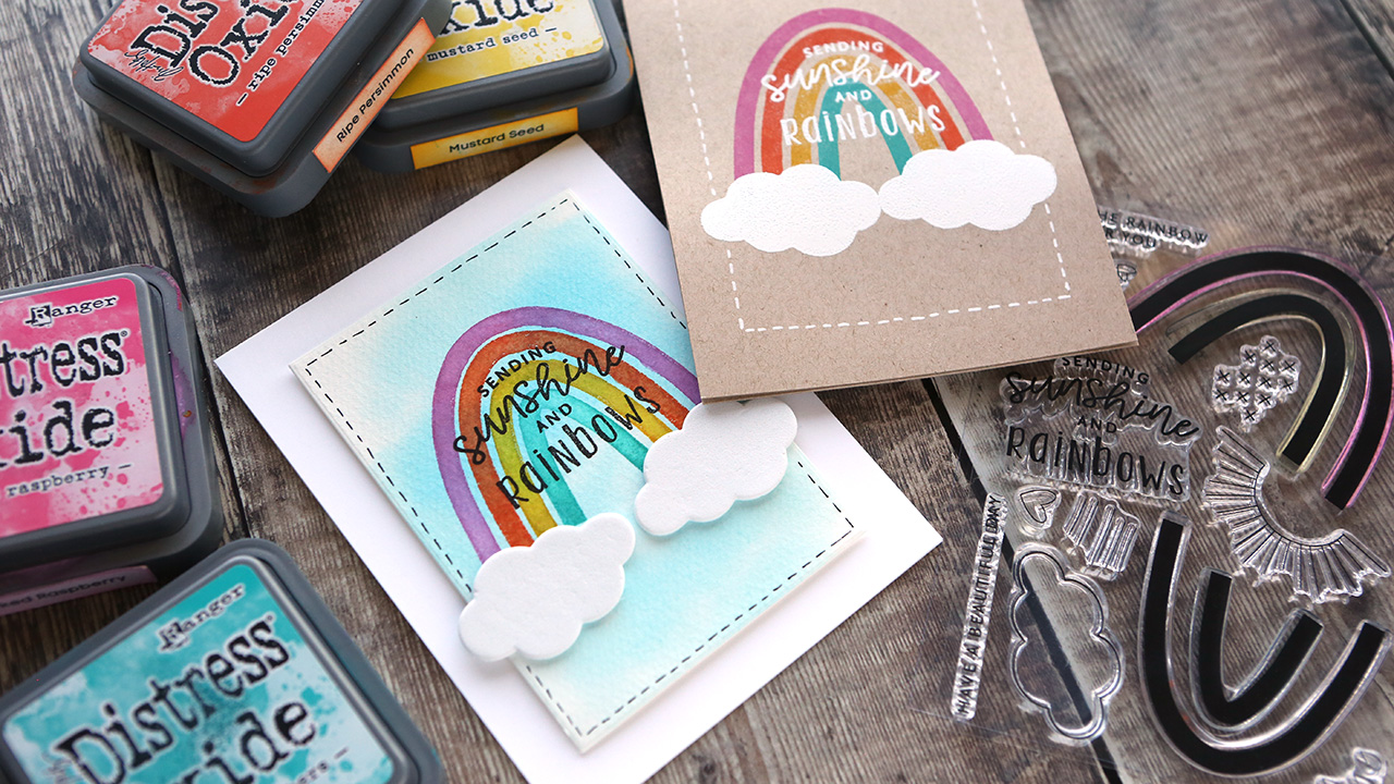 One Card Design & Two Cards with Different Supplies