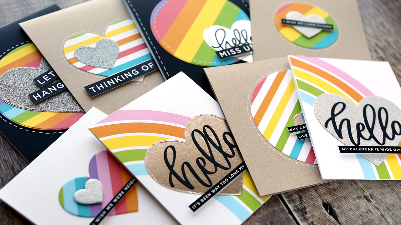 EASY Die Cut Cards (Tips for making LOTS of cards at the same time)