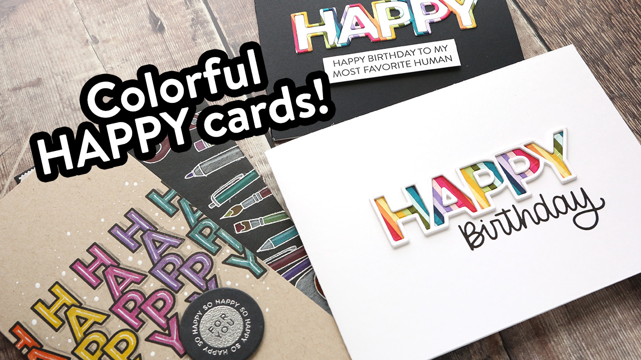 Happy Cards! NEW Simon/CZ Design Release!