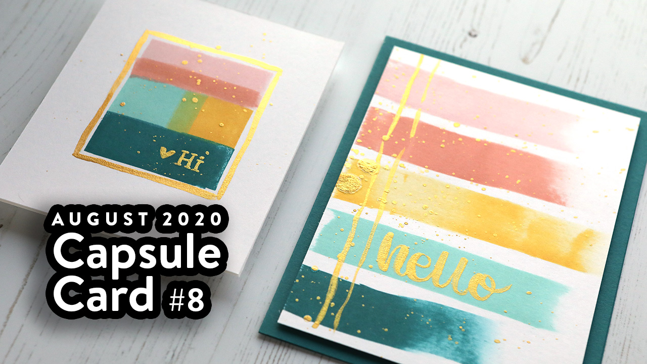 """""""Painting"""" with Your Ink Pads! – Capsule Card #8"""