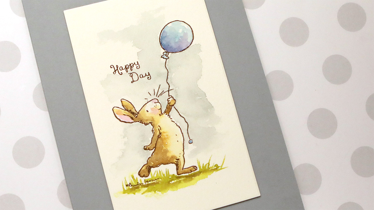 This ENTIRE release is awesome! Anita Jeram Collection + Sweet Watercolor Card