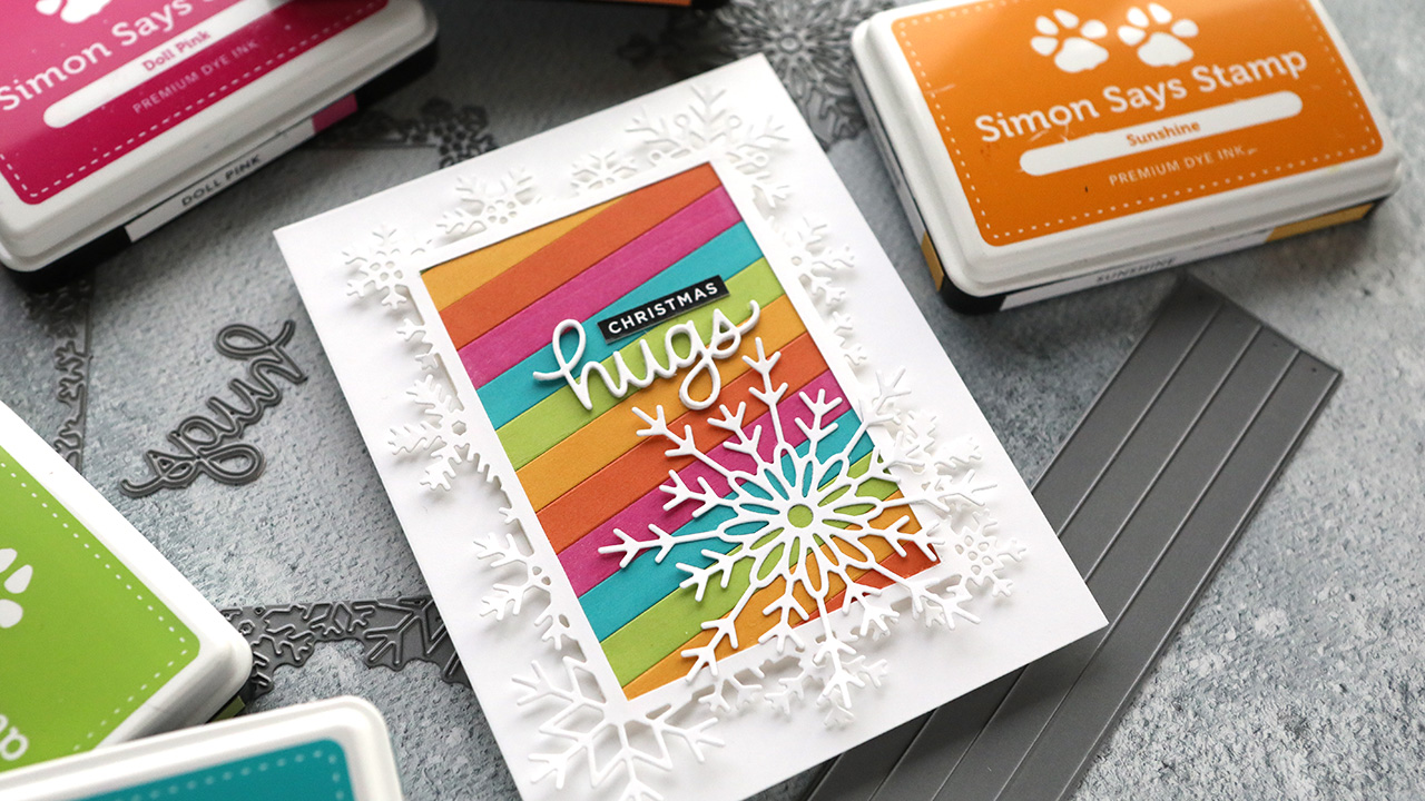 Holiday Card Series 2020 – Day 17 – All Die Cutting