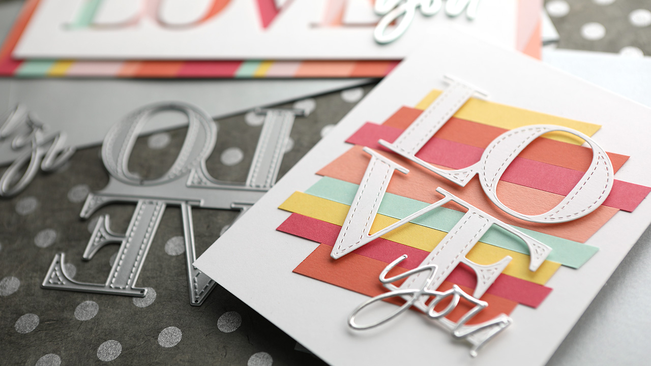 How to Modify a Craft Die (Partial Die Cutting) – Valentine's Day Card Series – Day 9