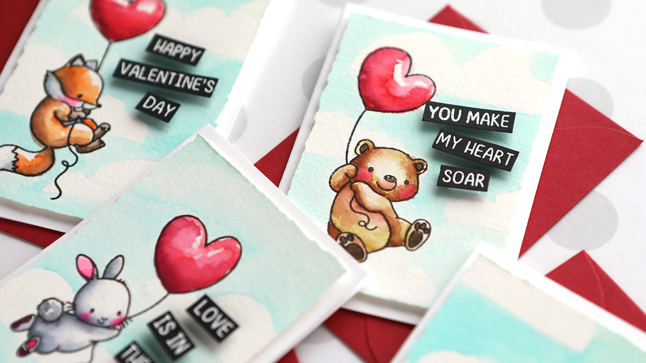 Mini Love Cards! – Valentine's Day Card Series – Day 14