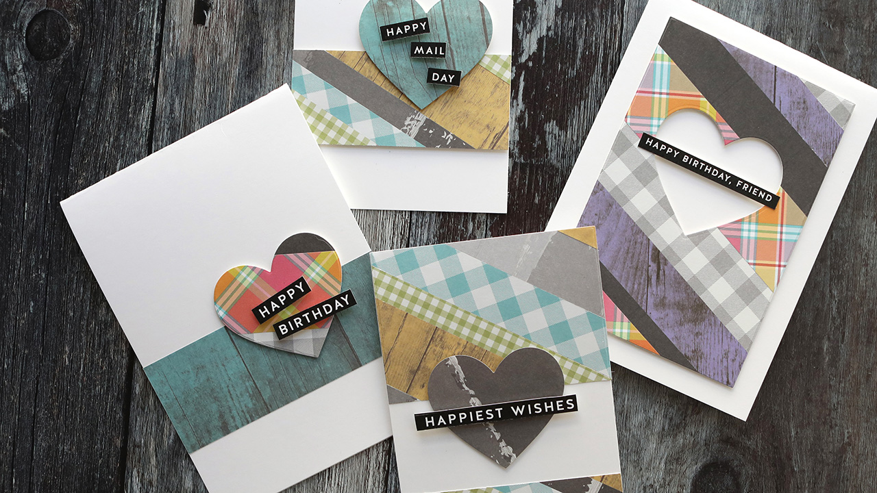 LIVE REPLAY – Easy & Simple Patterned Paper Cards