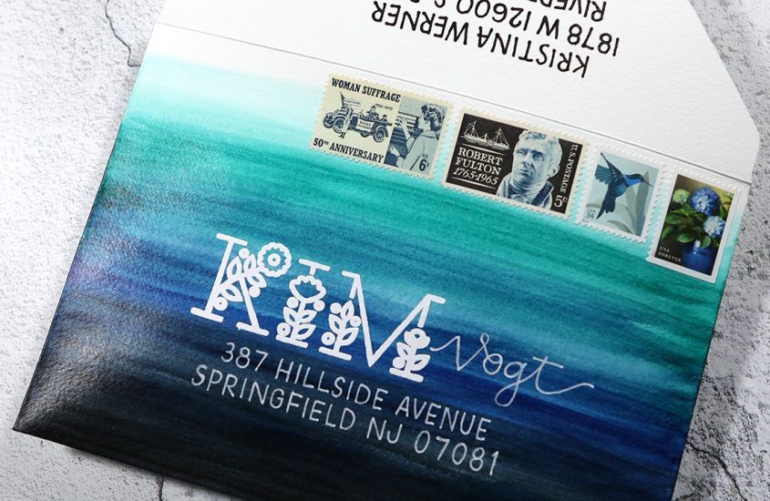 GIVEAWAY! Watercolor Envelopes & How to Protect Them + White Gel Pen Tips