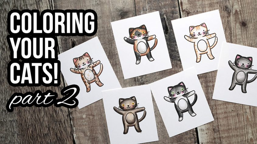 Coloring YOUR Cats! Part 2 of 2