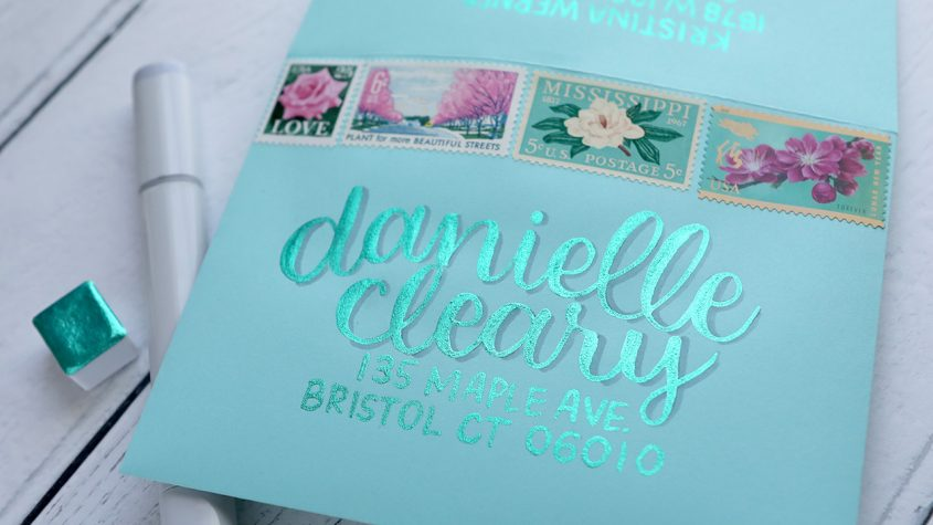 Relaxing Lettering on Envelope (It glows!) – Music Only