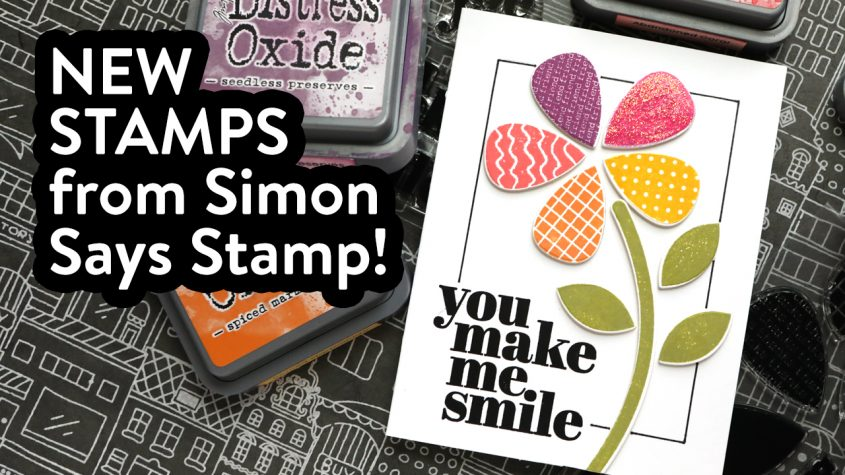 New Simon Release! Petal Power stamps