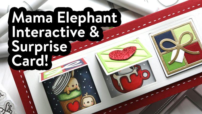 Mama Elephant Interactive Holiday Card + Anniversary Hop!