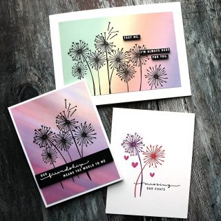What's this? Another Saturday post? Absolutely! Today I'm sharing three cards made using the May 2021 Card Kit from @simonsaysstamp. Watch how I created these clean and simple cards in a video at the link in my bio. #kwernerdesigncards