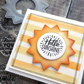 Bring on the sun! I just shared a video of this fun card at YouTube and my blog. So many fun @lawnfawn products on this card, too. Watch the video at the link in my bio. #kwernerdesigncards