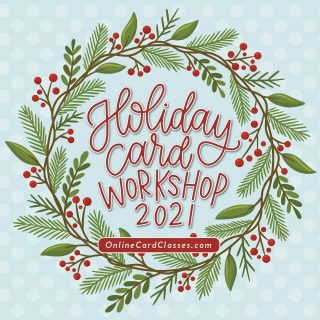 We just announced a new holiday card class at OnlineCardClasses.com! @jennifermcguireink and I have been pulling together an amazing class with rockstar card makers for you all. Can't wait for you to see the class! Holiday Card Workshop 2021 starts next Monday, November 1. Link to register is in my bio! #HolidayCardWorkshop2021